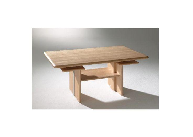 Wohnzimmertisch Buche Natur Hhenverstellbar Woody 189 00009 Holz Neutral Jetzt Bestellen Unter