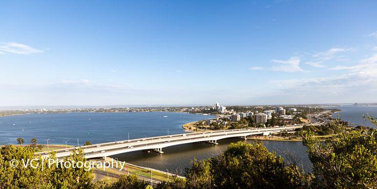 Narrows Bridges Perth view from King's Park