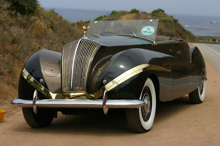 1947 Rolls-Royce Phantom III Labourdette Vutotal Cabriolet front - Vintage Collection of Old Classic Cars, Page 2