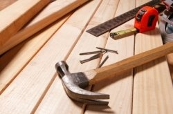 Knowledge of tools, equipment, and materials are needed on the job.    http://www.squidoo.com/online-carpentry-course
