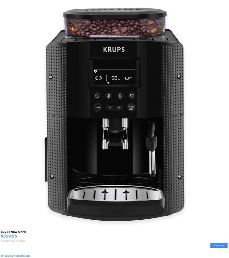 appliances: Krups Ea 8150 Fully Automatic Espresso Coffee ...