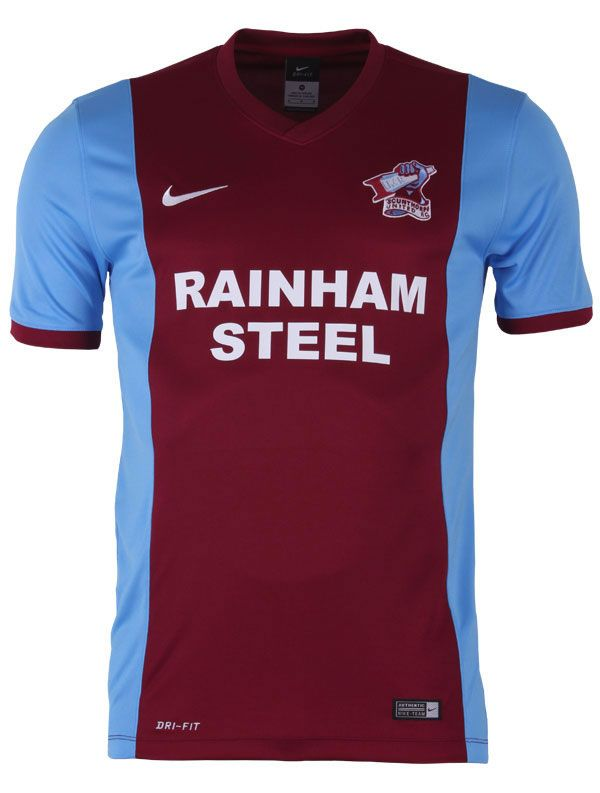 Scunthorpe United 2014-15 Nike Home Kits