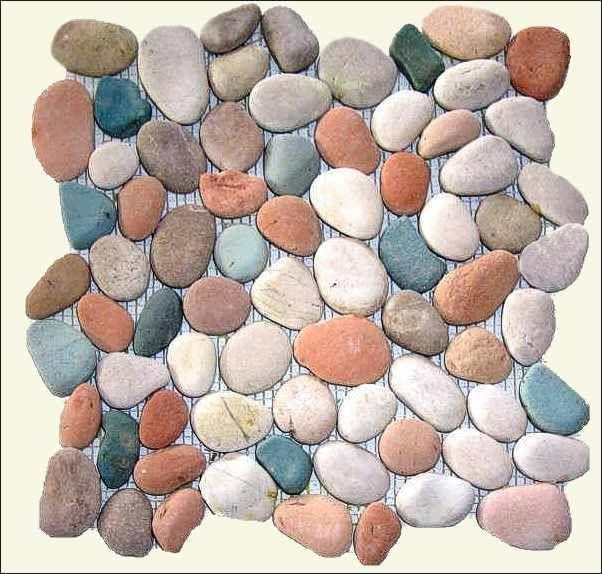 352 besten stones and pebbles bilder auf pinterest - Flusskiesel fliesen ...
