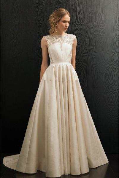 Vestidos de novia línea A 2017: 40 diseños para lucir una figura estilizada y entallada Image: 21