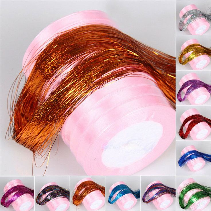 how to put in hair tinsel extensions