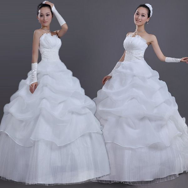 Cheap dresses evening dresses, Buy Quality wedding dress wedding gown directly from China free wedding dress up games Suppliers:      Free Shipping New 2014 White Sexy Off Shoulder Backless Flower Bride Wedding Sweet Princess Slim Wedding DressUS $
