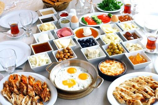 Turkish breakfast - turk kahvaltisi
