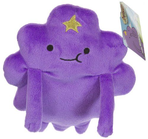 Lumpy Space Princess 6.5 Plush: Adventure Time with Finn & Jake Plush Series @ niftywarehouse.com #NiftyWarehouse #AdventureTime #TVShow #Cartoon #Show #CartoonNetwork