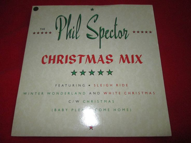 Phil Spector The Phil Spector Christmas Mix Chrysalis CHS3202 P/SUK 7  45 single