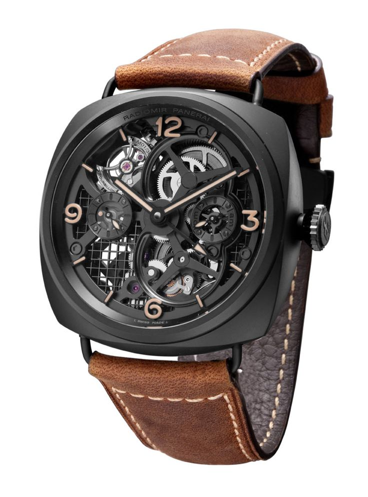 Radiomir Tourbillon GMT Ceramique