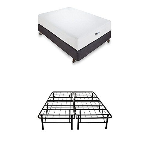 Classic Brands Cool Gel Memory Foam 8 Inch Mattress With Hercules