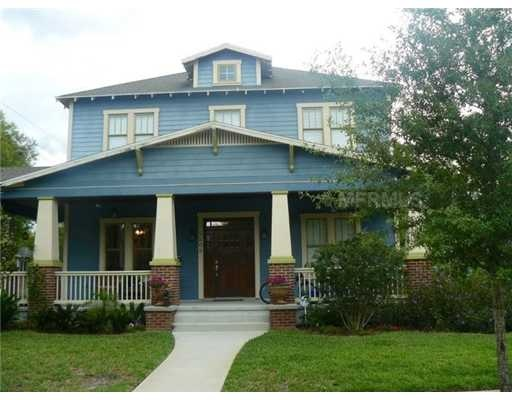 Exclusive 3 Story Bungalow 9: 2 Story 3/2.5 Bungalow Home In Seminole Heights! 5509 N