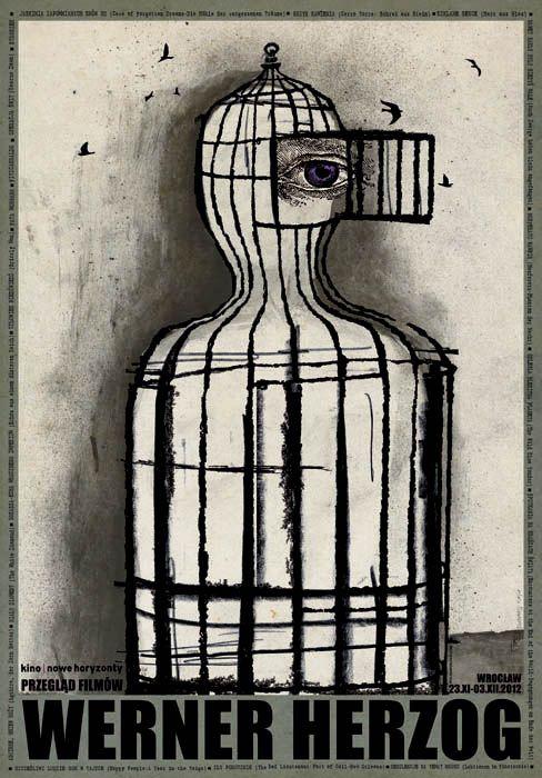 Werner Herzog Film Retrospective, Polish Poster
