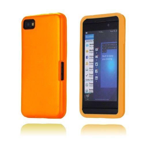 Alu Guard (Orange) Blackberry Z10 Cover
