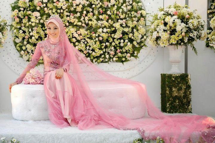 Model Baju Pengantin Muslim 2014 4 Model Baju Pengantin Muslim 2014