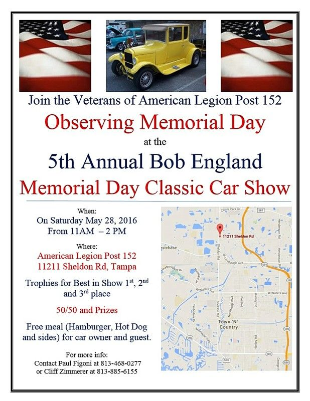 memorial day classic car show