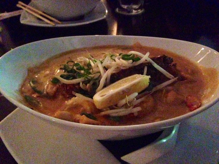 Laksa! Too delicious ︎!   I eat at ︎ Southeast Asia, Australia also delicious.
