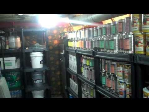 Food Storage And Battery Bank that will be on Doomsday Preppers