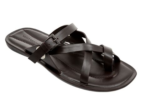Just because you're out the office, doesn't mean you need to be any less stylish with these fancy strap sandals with buckle #KurtGeigerSA #Spitz