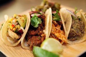 Tacos de lengua from FIG Restaurant