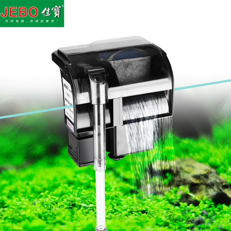 JEBO Aquarium Filter External Hang Up Filter Water Pumps Waterfall Maker Oxygen Setup Machine Super For Aquarium Accessories 503