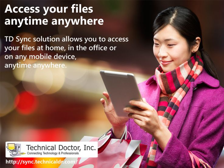Access your file anytime anywhere ► http://sync.technicaldr.com