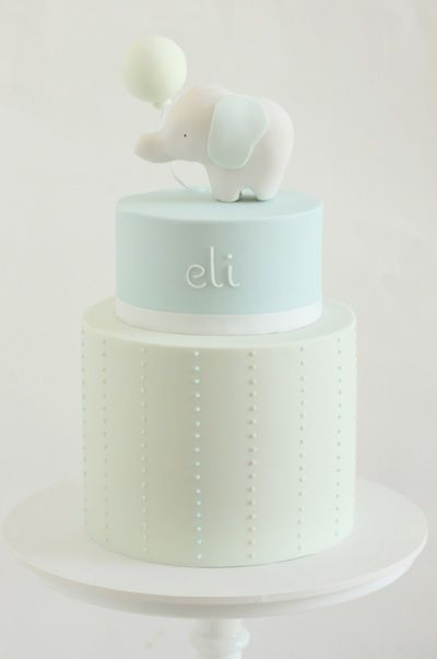 this elephant cake is adorable!!! party inspiration ~ no recipe