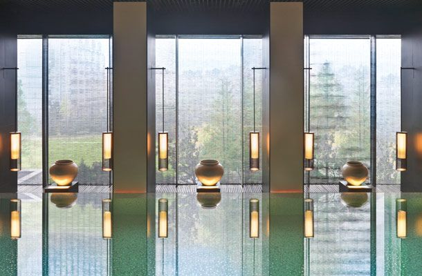Discover BA YAN KA LA luxury hotel bathroom personal care at The PuLi Hotel Shanghai, award-winning Condé Nast Traveler China 2015