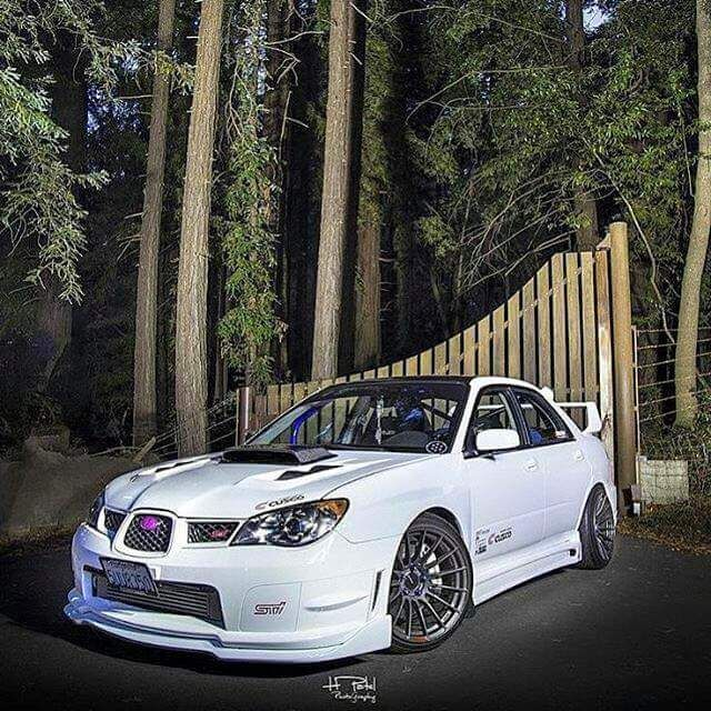 Subaru Impreza WRX STi Jesus Christ I Want This Build.