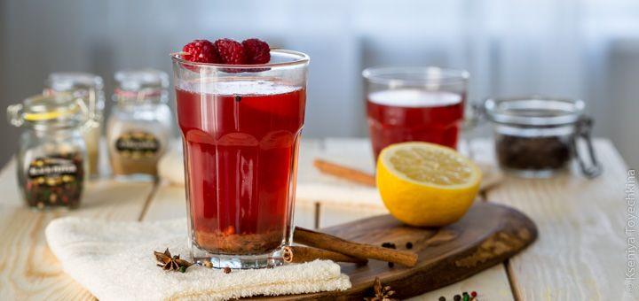 Малиновый напиток от простуды
