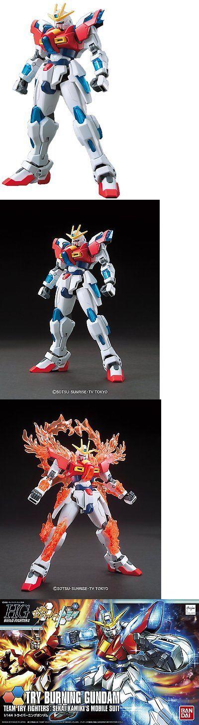 Gundam 16513: Hgbf 1 144 Try Burning Gundam Gundam Build Fighters Try Model Kit -> BUY IT NOW ONLY: $41.46 on eBay!