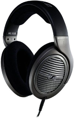 Sennheiser HD 518 Open Circumaural Headphones with E.A.R. Technology
