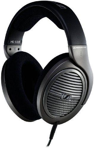 Sennheiser HD 518 Open Circumaural Headphones with E.A.R. Technology