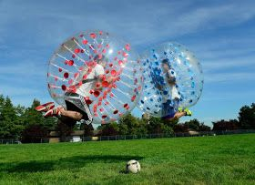 Bubble Football is the Talk of the Town!        Bubble football is the latest craze bestowing more fun than the normal football or soccer....