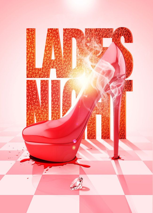 Ladies Night Bar Poster Background Psd Flyer And Poster Design Night Bar Bar Poster
