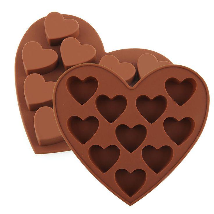 Heart Chocolate Mould - Baking World LTD