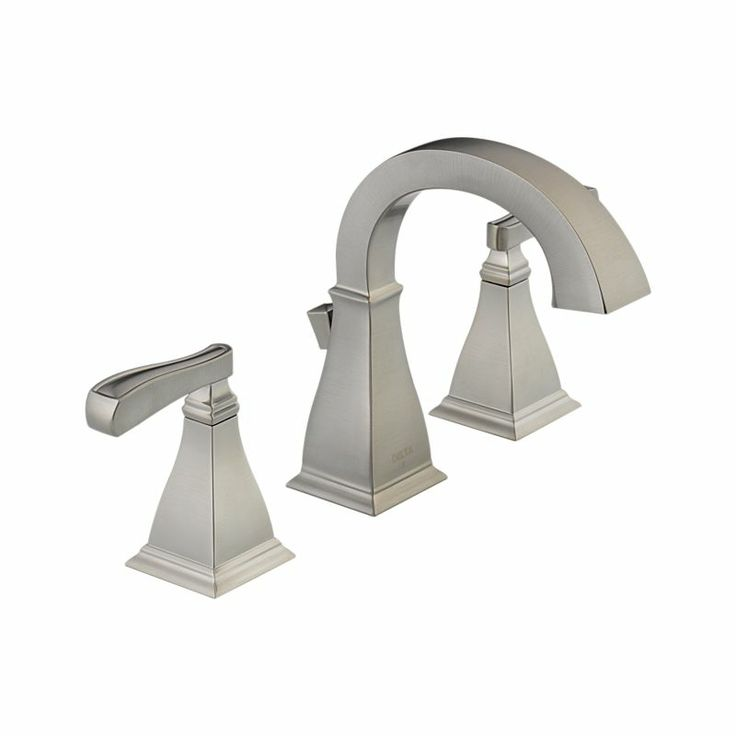 35717 Ss Dst Olmsted Two Handle Widespread Lavatory Faucet