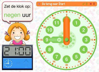 Didakto: app om te oefenen met klokkijken