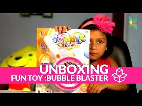 Bubble World Bubble Gun Toy Bubble Gun Available in India - YouTube
