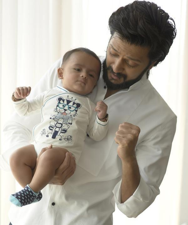 First Look: Meet Riteish and Genelia's little darling, 'Riaan' | PINKVILLA