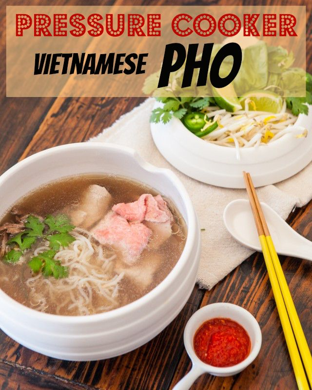Paleo-Friendly Pressure Cooker Vietnamese PHO! http://www.steamykitchen.com/31369-vietnamese-pho-pressure-cooker-noodle-soup-paleo-recipe.html #pho #recipe #paleo