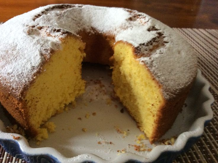 Ciasto mandarynkowe bez tluszczu