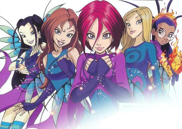 Чародейки W.I.T.C.H. - игры для девочек