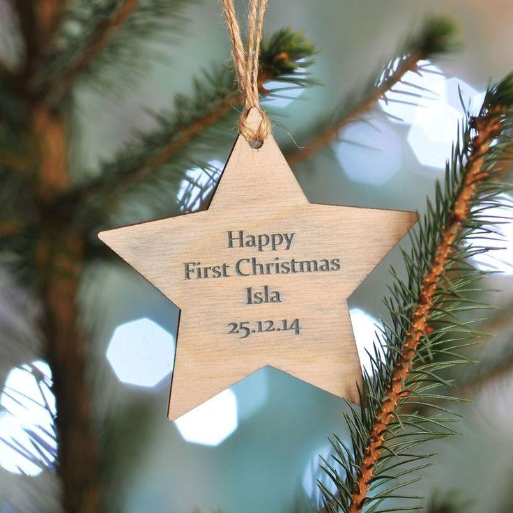 Christmas in #htfstyle Personalised Christmas keepsake | hardtofind.