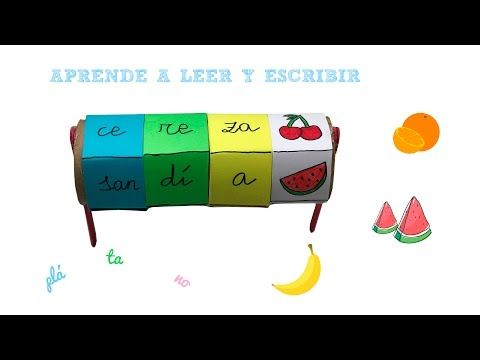 Aprender a leer y escribir de forma divertida 2 - Learn to read and write in a fun way 2 - YouTube