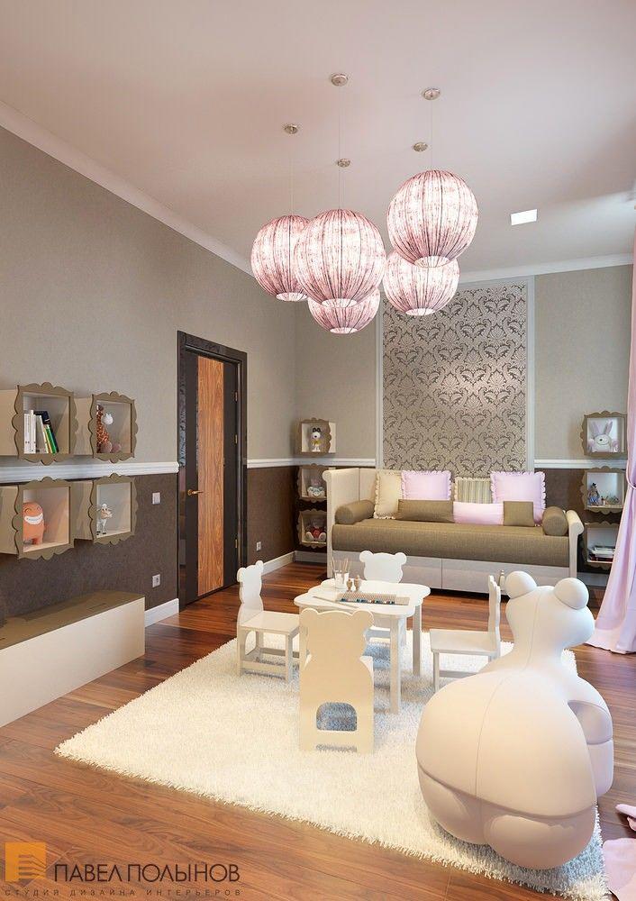 Детская комната в светлых и спокойных тонах  / kids room / kids room idea / kids room decor / kids room design / by Pevel Polinov Studio #design #interior #homedecor #interiordesign