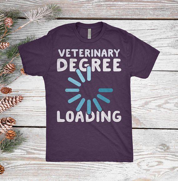 Vet Degree Loading Vet Student Gift Gift For Veterinary School