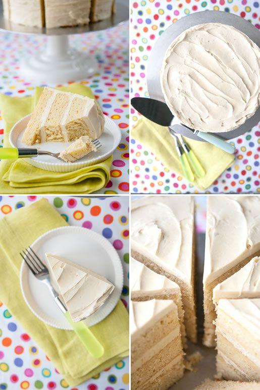 Vanilla Malted Milk Cake - Hungry Rabbit NYC