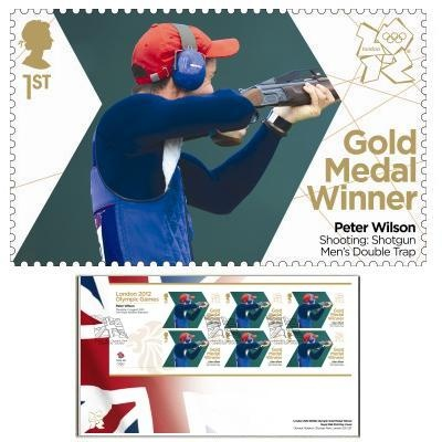 Large image of the Team GB Gold Medal Winner First Day Cover Overseas - Peter Wilson