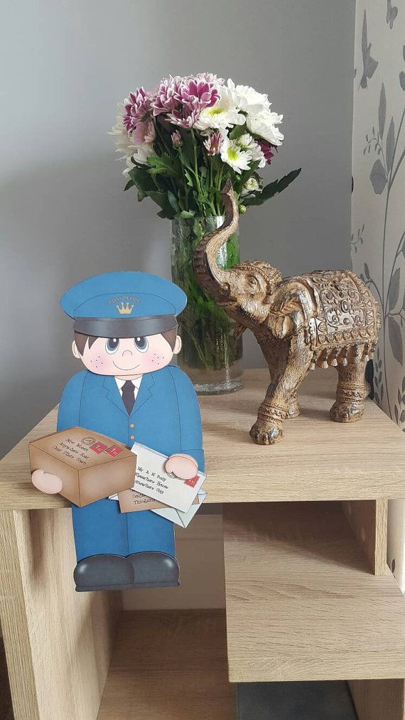 Check out this item in my Etsy shop https://www.etsy.com/uk/listing/490234361/unusual-postman-card-postie-royal-mail